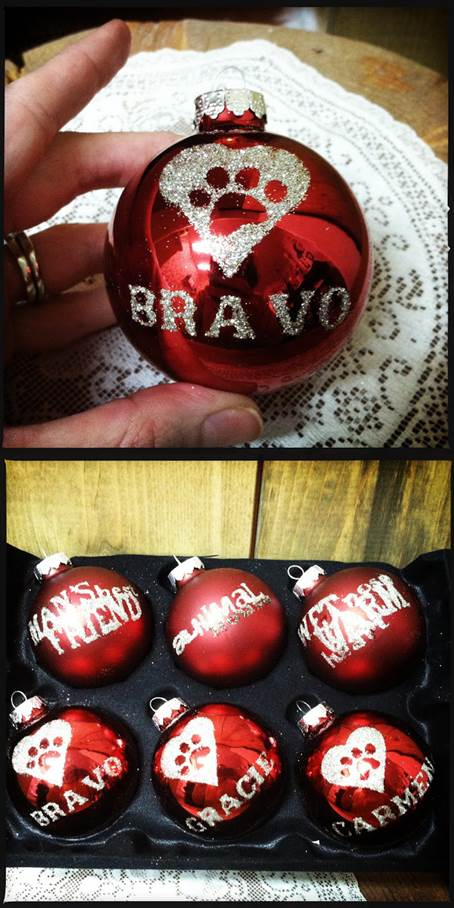 DIY Christmas Pet Ornaments 2