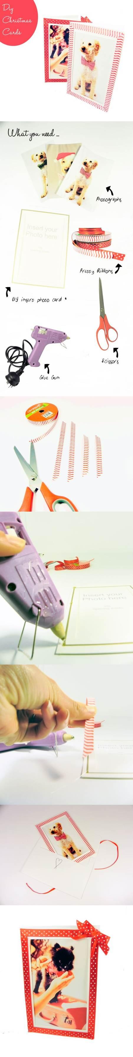 DIY Dog Christmas Cards 2