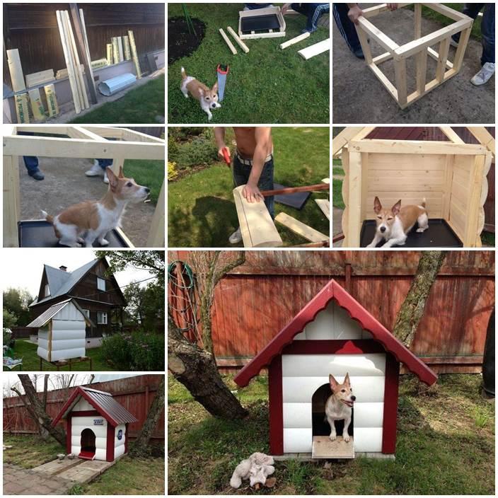 DIY Outdoor Dog House 1