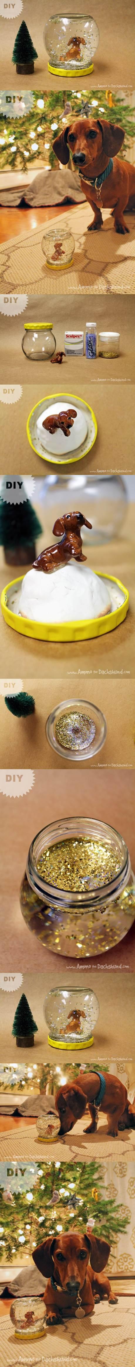 DIY Pet Snowglobes for Christmas 2