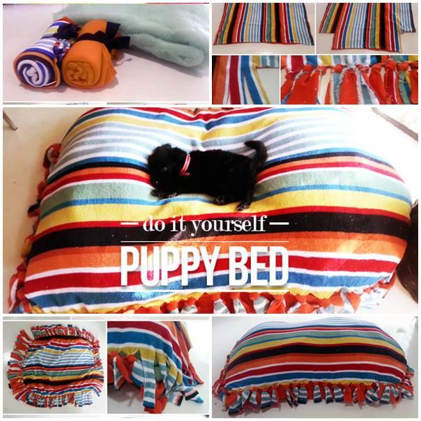 DIY Puppy Dog Bed 1