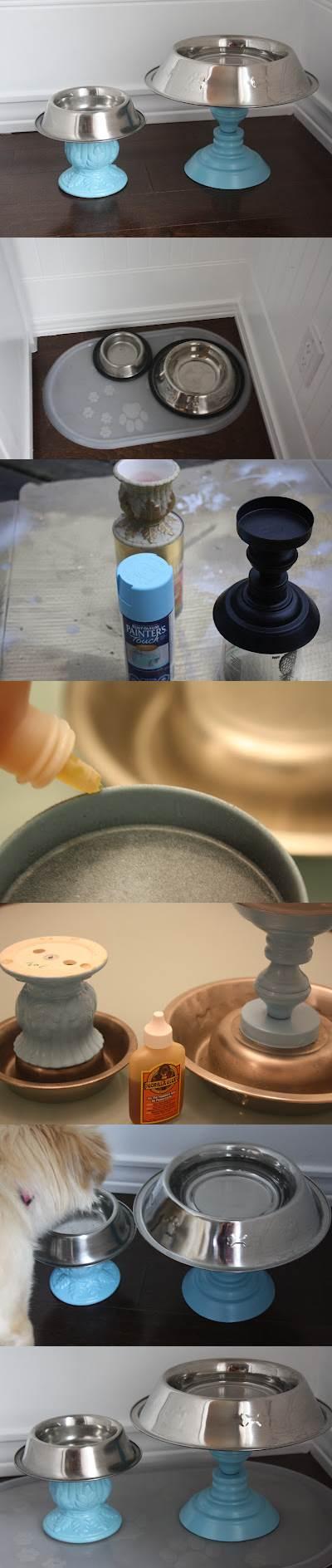 DIY Raised Pet Bowls 2