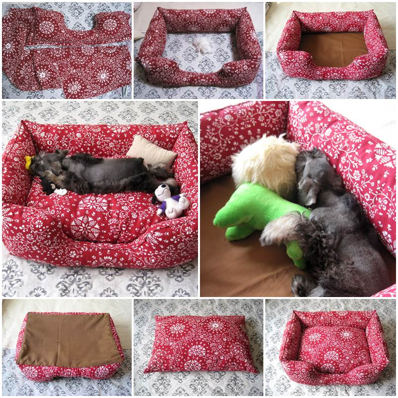 Из чего сделать кровать для кошки своими руками 761