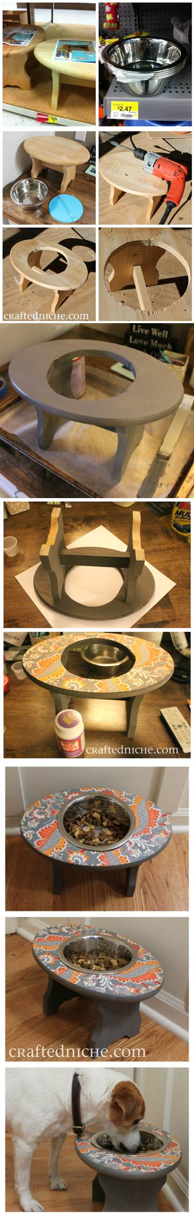 DIY Super Simple Dog Feeder 2
