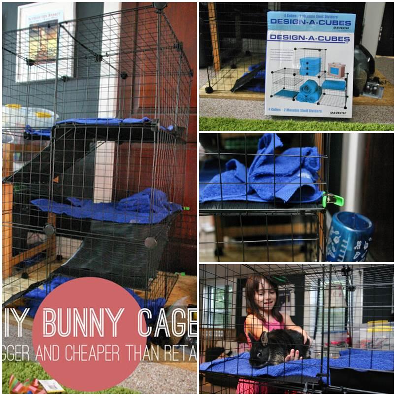 DIY Bunny Cage 1