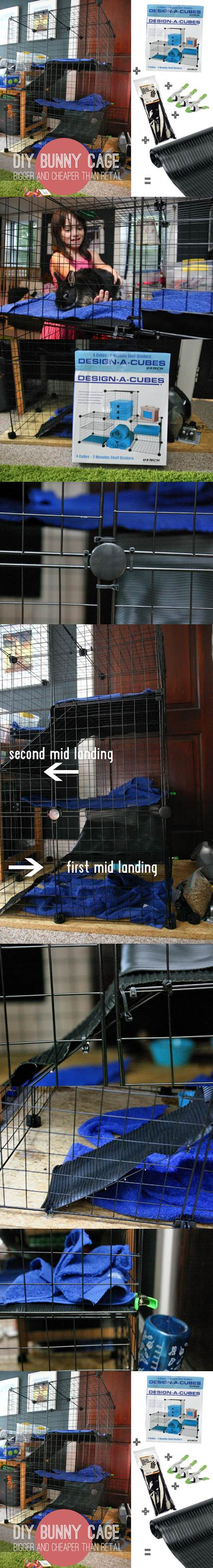DIY Bunny Cage 2