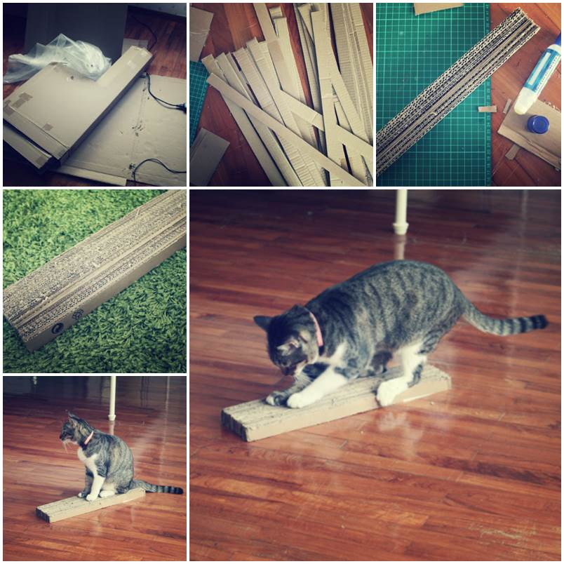 DIY Cardboard Scratch Pad 1