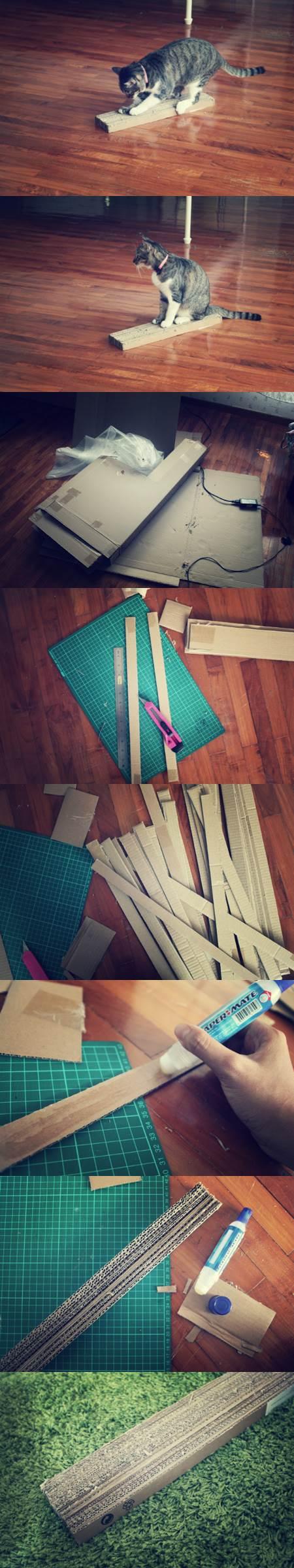 DIY Cardboard Scratch Pad 2