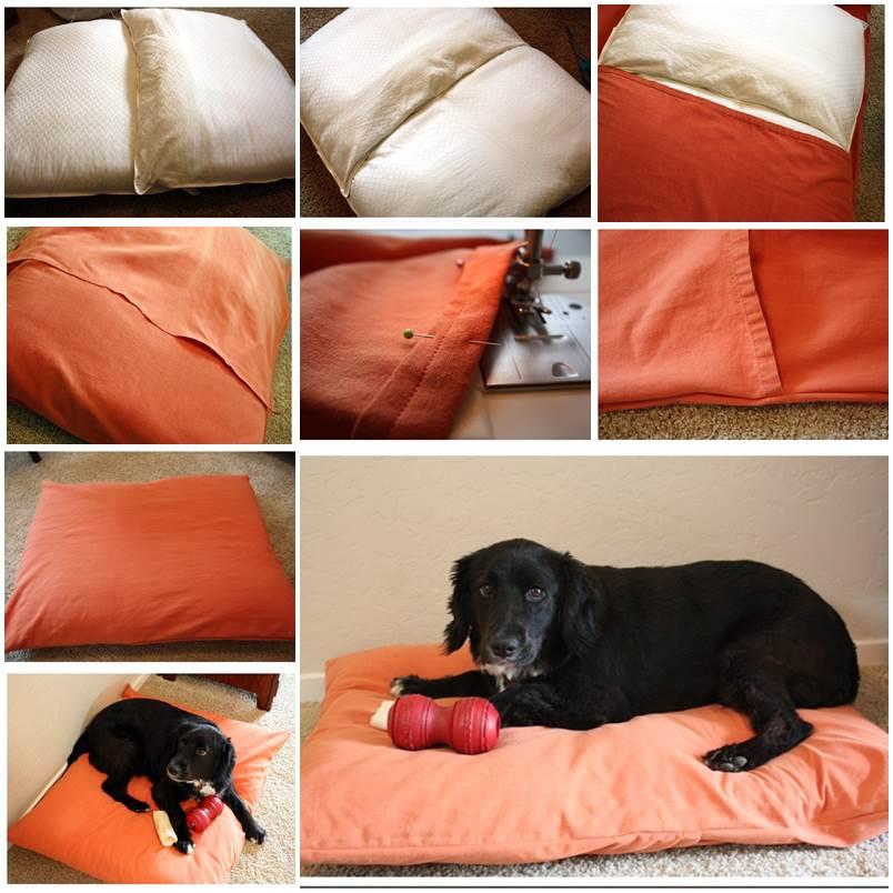 DIY Cozy Dog Bed 1