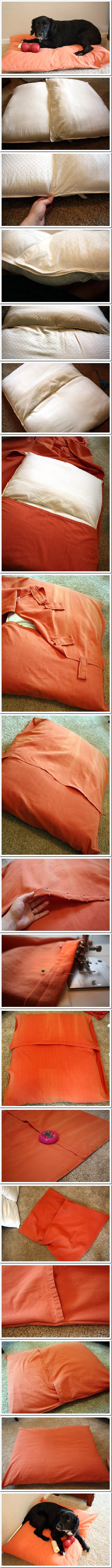 DIY Cozy Dog Bed 2