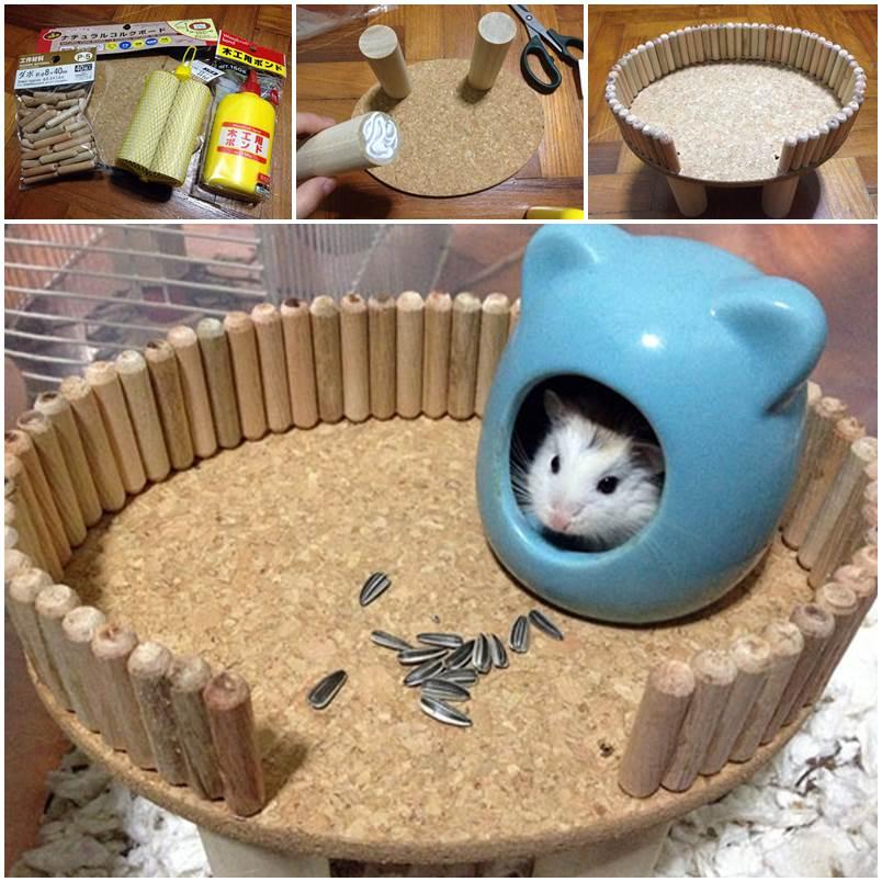 DIY Hamster Platform 1
