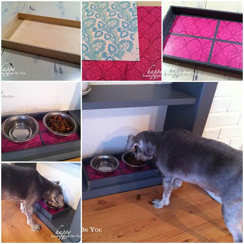 DIY Pet Food Tray 1