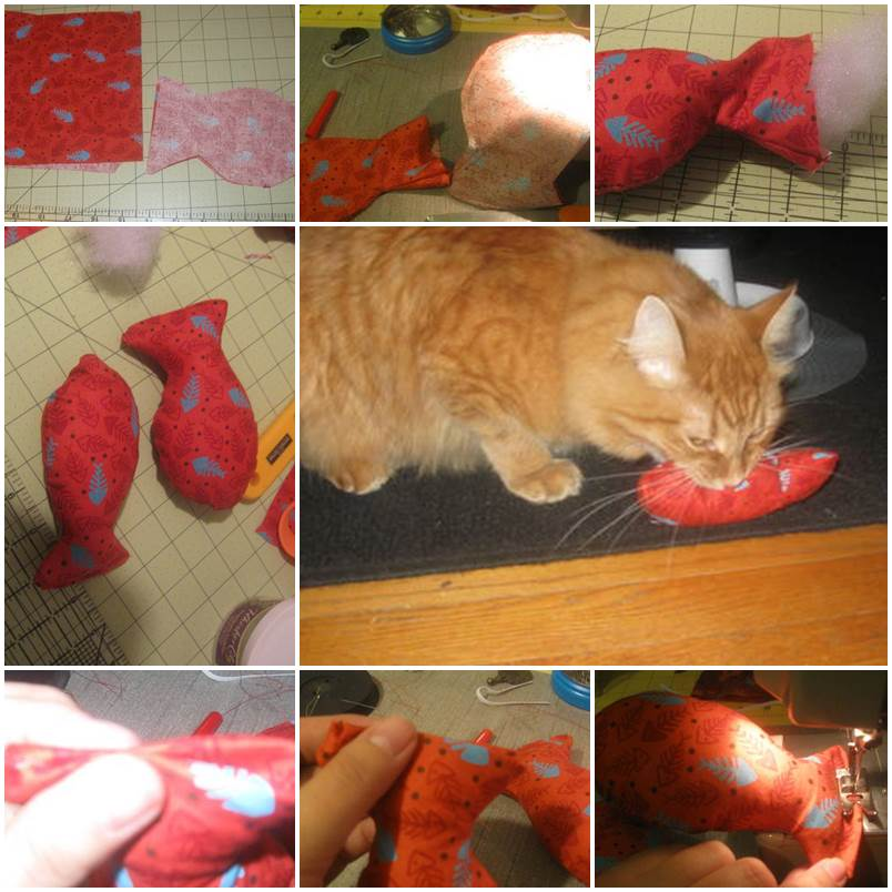 DIY soft kitty toys step by step tutorial instructions 1
