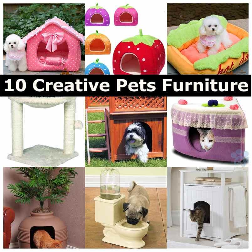 10 Creative Pets Furniture