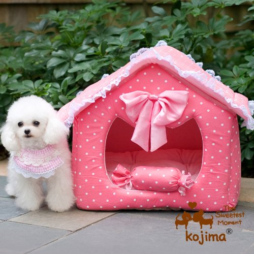 Pink Princess Dog House